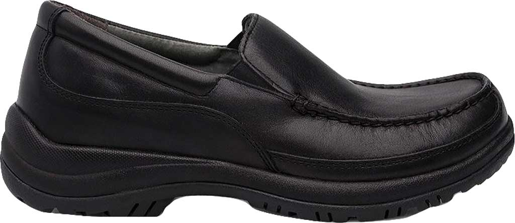 Men's Dansko Wayne Loafer, Black Full Grain, large, image 2