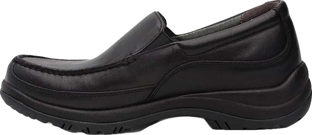 Men's Dansko Wayne Loafer, Black Full Grain, large, image 3