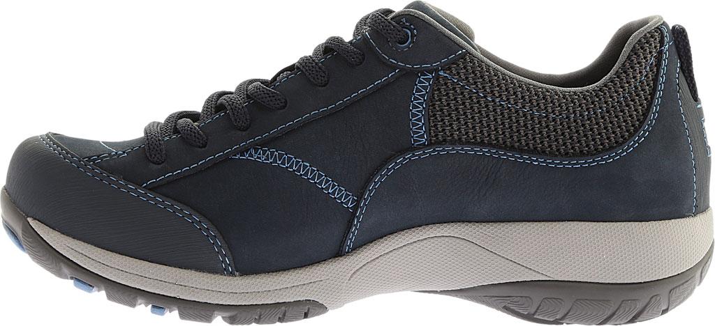 Women's Dansko Paisley Walking Shoe, Navy Milled Nubuck, large, image 3