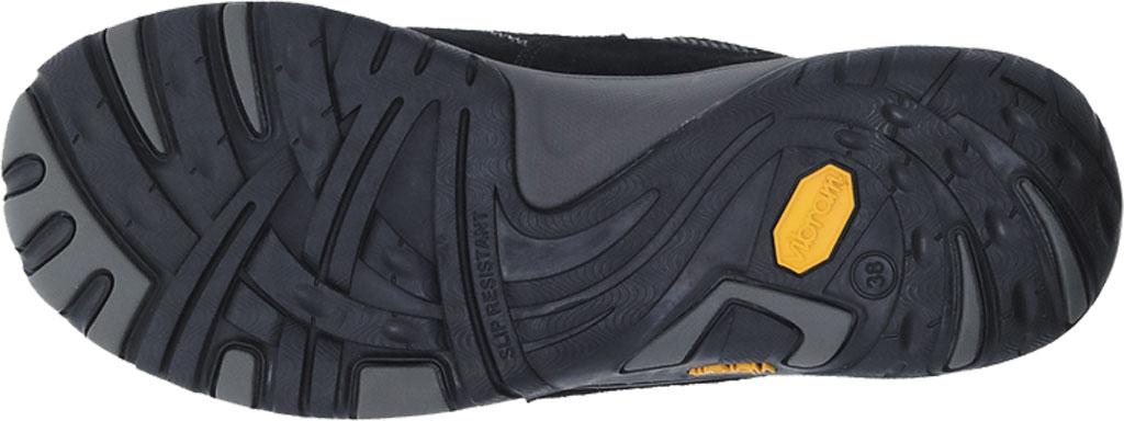 Women's Dansko Paisley Walking Shoe, Black/Black Waterproof Suede, large, image 3