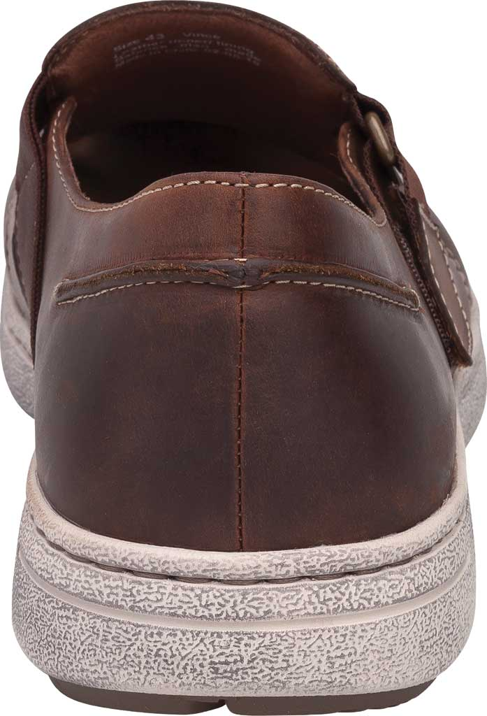 Men's Dansko Vince Fisherman Sandal, Brown Oiled Pull Up Leather, large, image 3