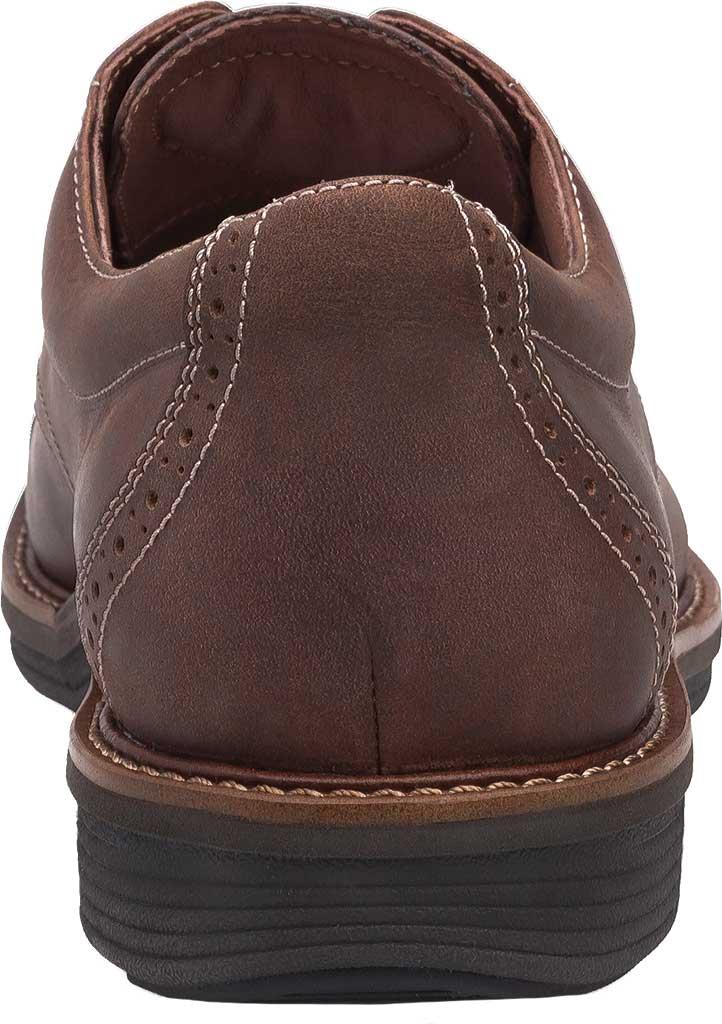 Men's Dansko Justin Cap Toe Oxford, Brown Oiled Nubuck, large, image 4