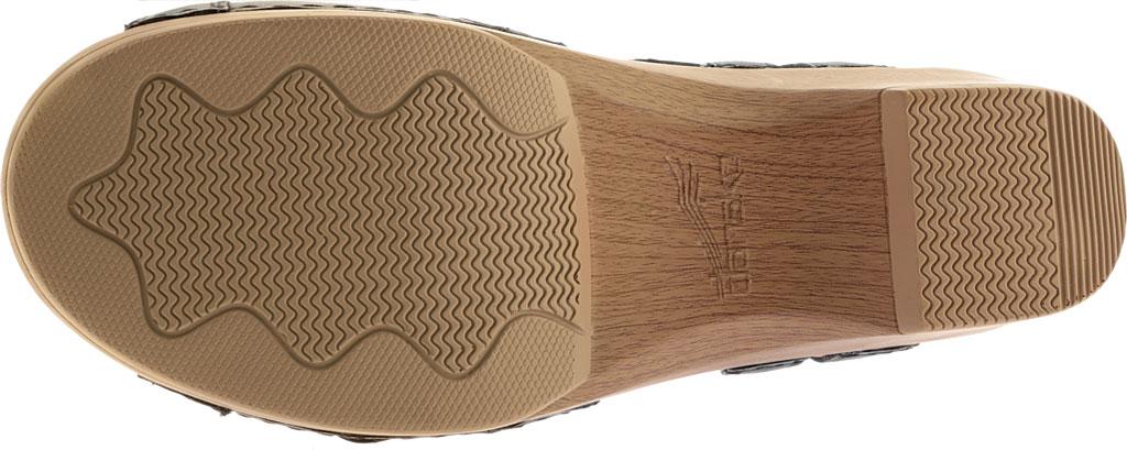 Women's Dansko Season Quarter Strap Sandal, Graphite Nappa, large, image 7
