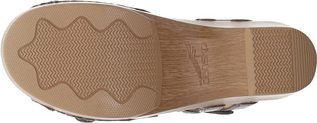 Women's Dansko Season Quarter Strap Sandal, Stone Burnished Calf, large, image 4