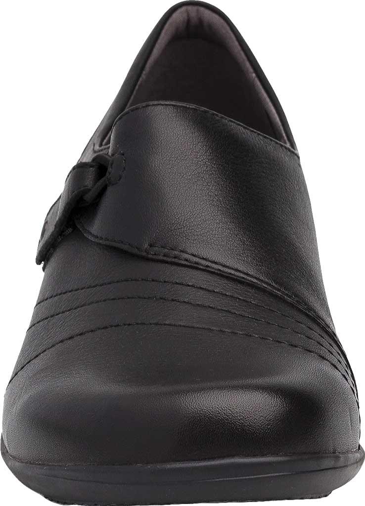 Women's Dansko Franny Slip On, Black Milled Nappa Leather, large, image 4