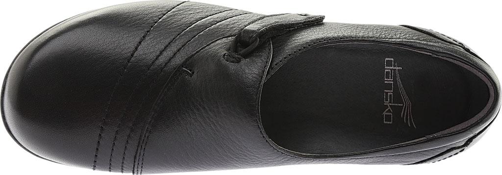 Women's Dansko Franny Slip On, Black Milled Nappa Leather, large, image 6
