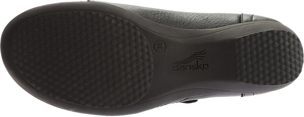 Women's Dansko Franny Slip On, Black Milled Nappa Leather, large, image 7