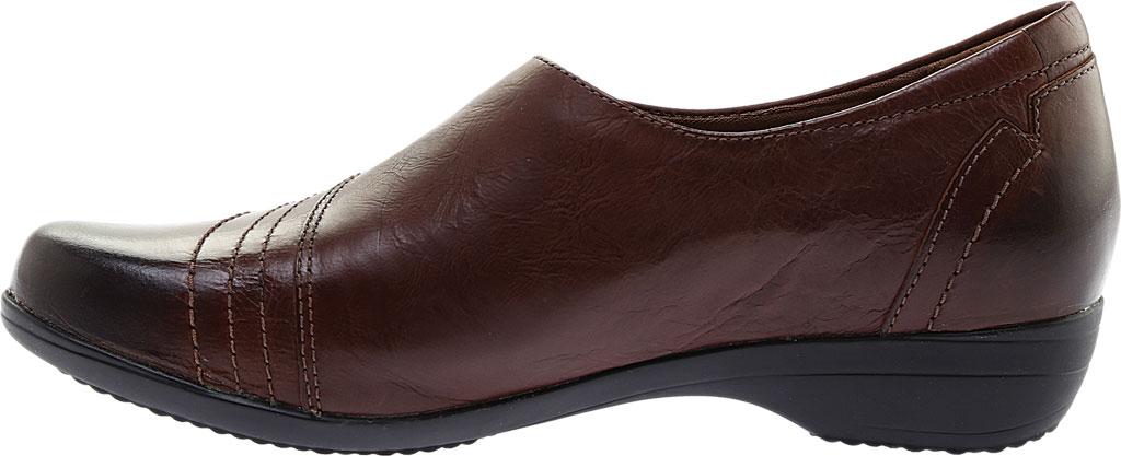 Women's Dansko Franny Slip On, Chocolate Burnished Calf, large, image 3