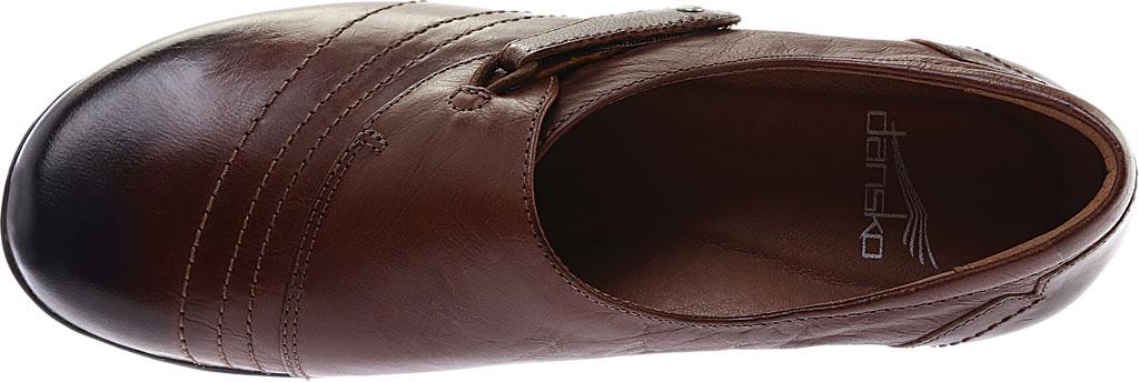 Women's Dansko Franny Slip On, Chocolate Burnished Calf, large, image 5