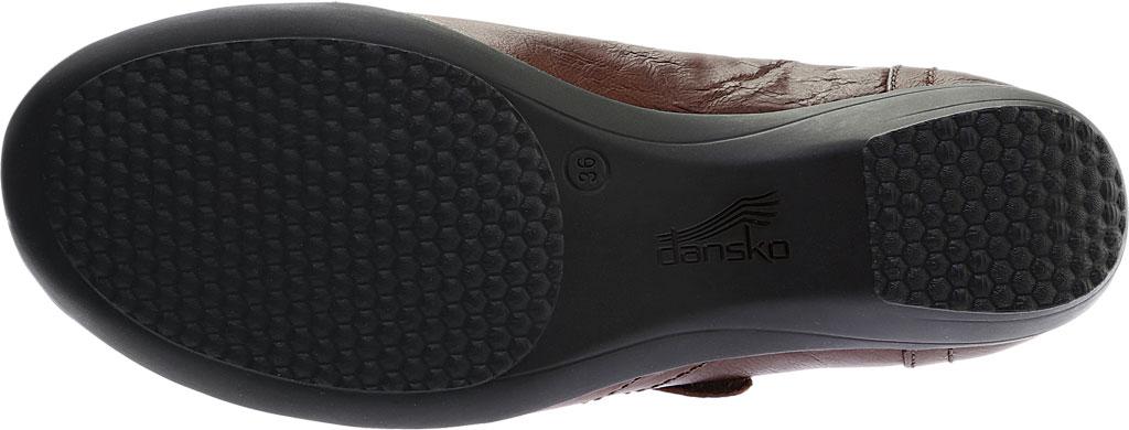 Women's Dansko Franny Slip On, Chocolate Burnished Calf, large, image 6