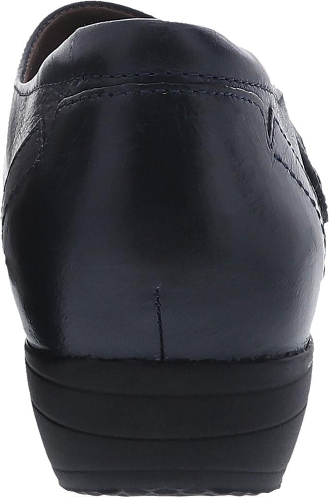 Women's Dansko Franny Slip On, Navy Burnished Calf, large, image 3