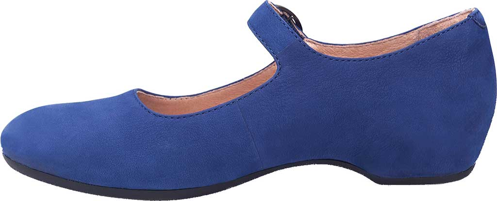 Women's Dansko Linette Mary Jane, Blue Milled Nubuck, large, image 2