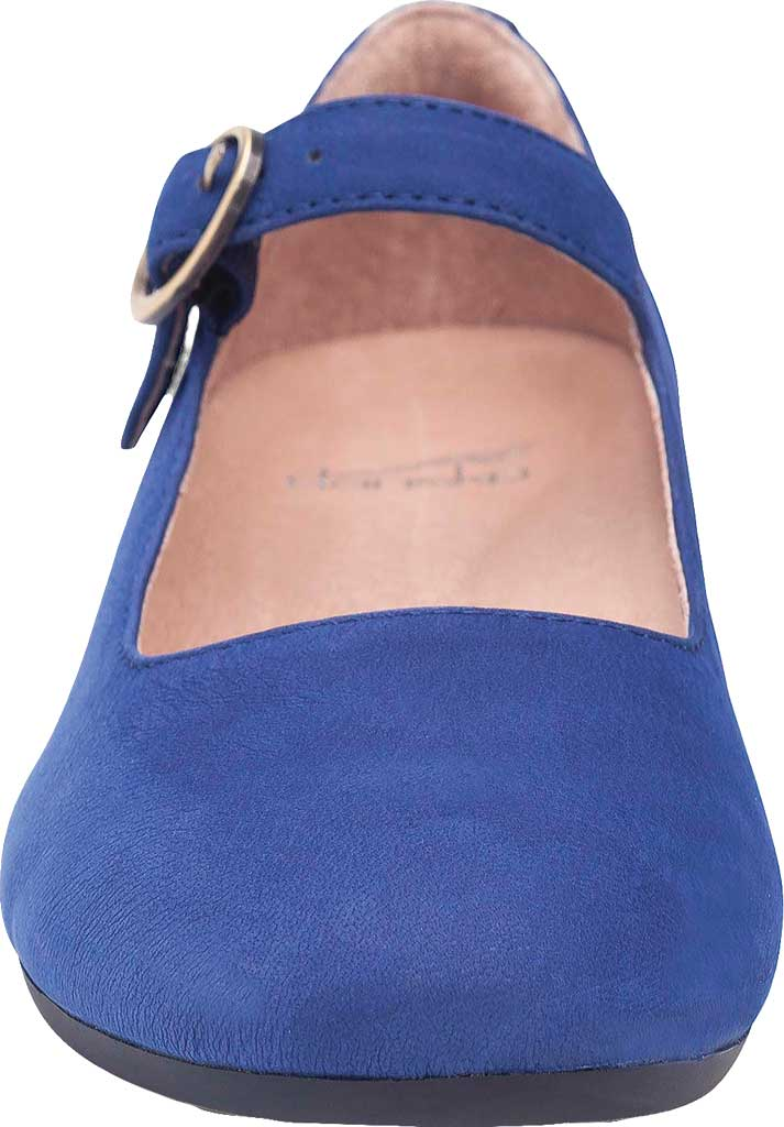 Women's Dansko Linette Mary Jane, Blue Milled Nubuck, large, image 3