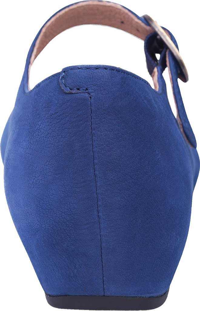 Women's Dansko Linette Mary Jane, Blue Milled Nubuck, large, image 4