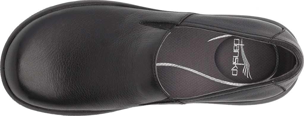 Women's Dansko Winona Closed Back Clog, Black Milled Nappa Leather, large, image 5