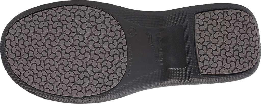Women's Dansko Winona Closed Back Clog, Black Milled Nappa Leather, large, image 6