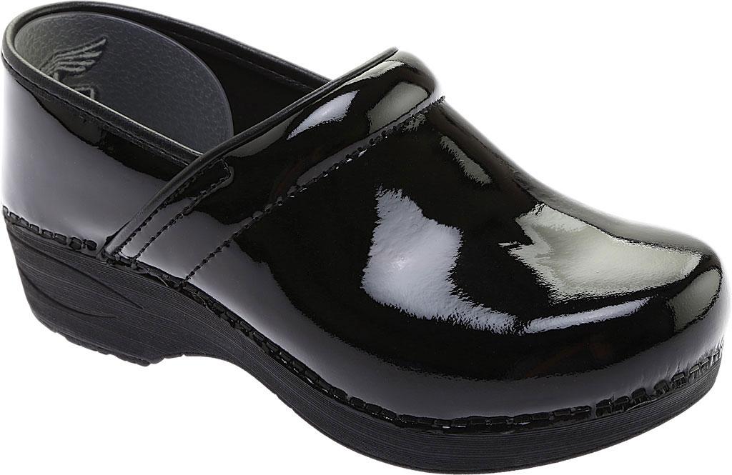 Women's Dansko Wide XP 2.0 Clog, Black Patent Leather, large, image 1