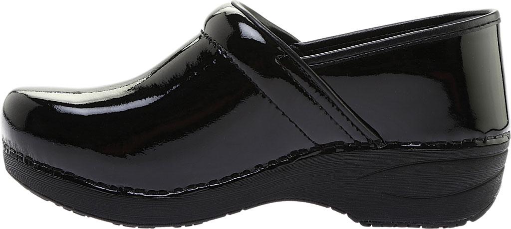 Women's Dansko Wide XP 2.0 Clog, Black Patent Leather, large, image 3