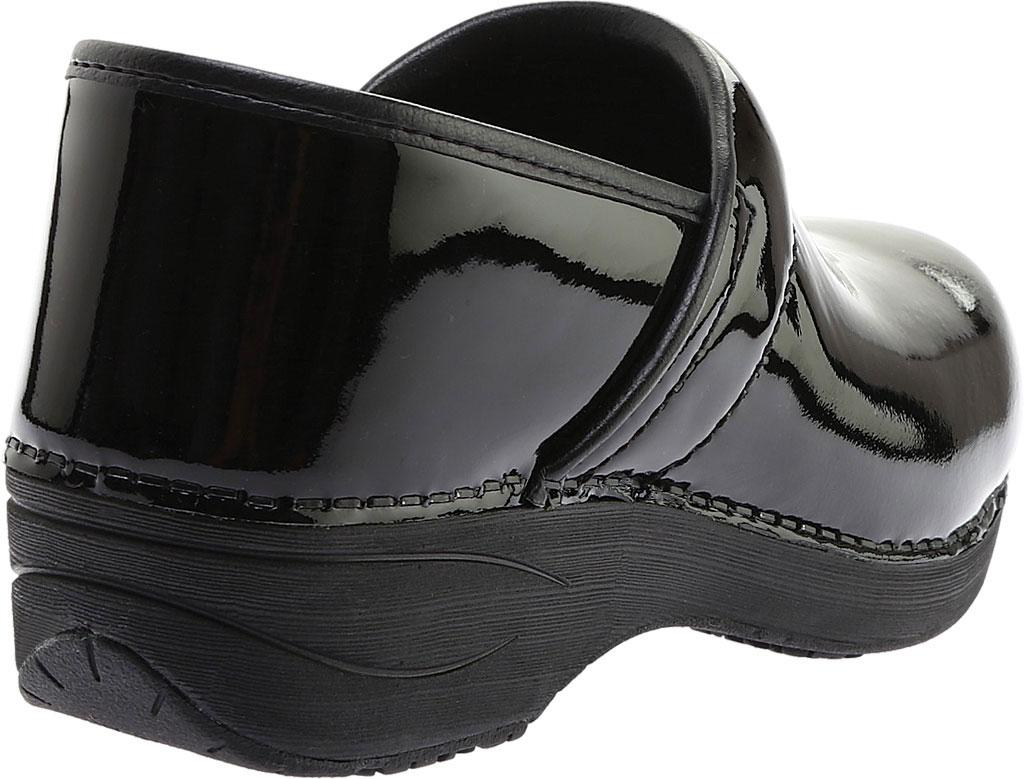 Women's Dansko Wide XP 2.0 Clog, Black Patent Leather, large, image 4