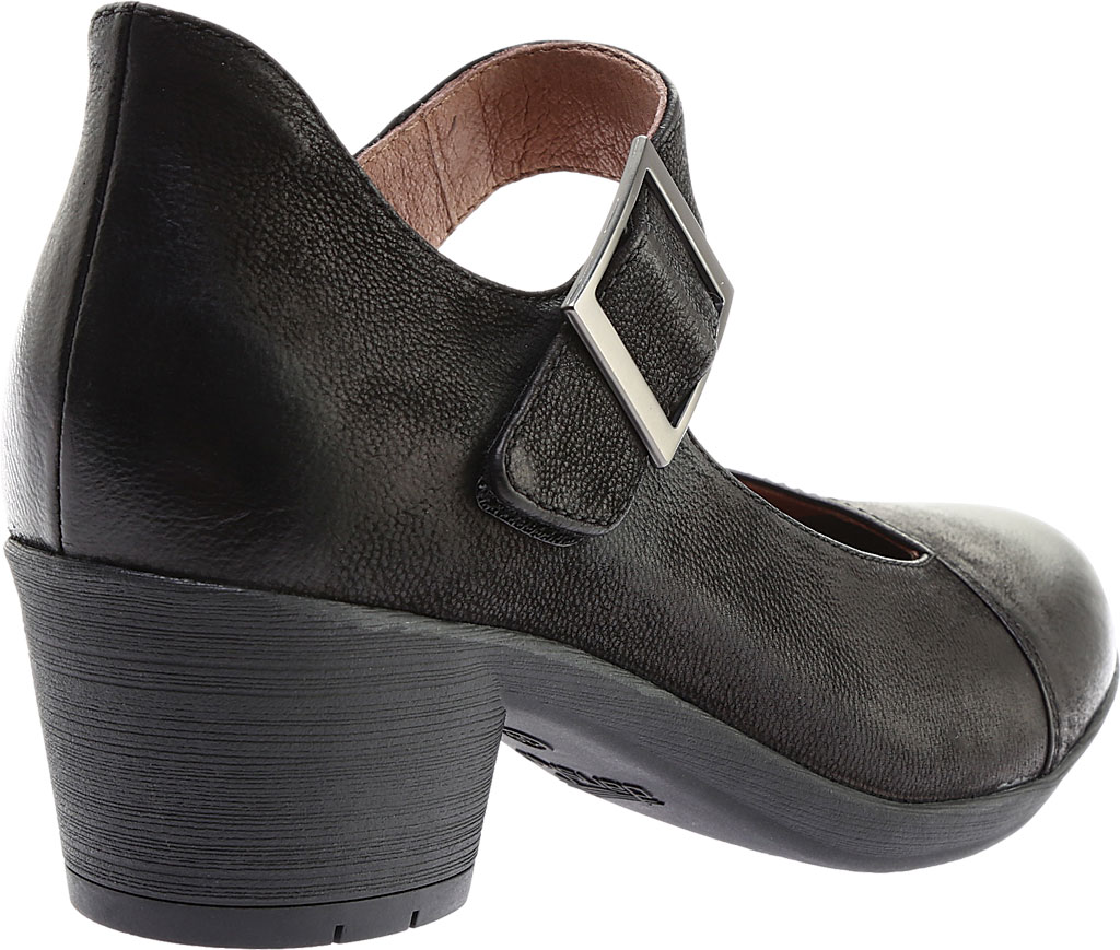Women's Dansko Roxanne Mary Jane, Black Burnished Nubuck, large, image 4