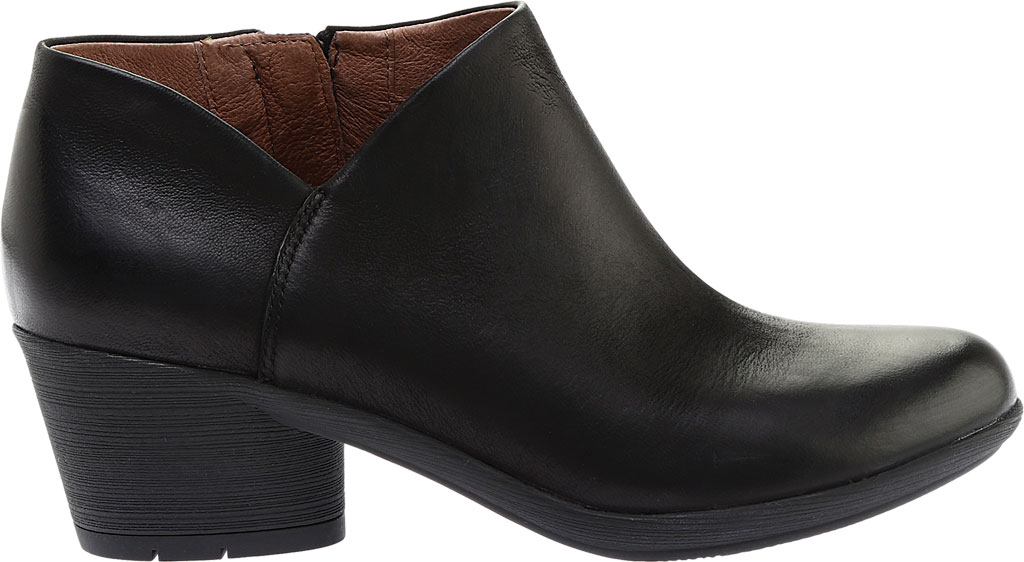 Women's Dansko Raina Ankle Boot, Black Burnished Nubuck, large, image 2
