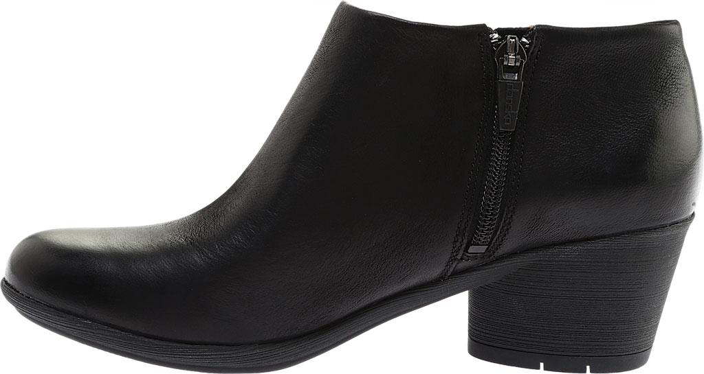 Women's Dansko Raina Ankle Boot, Black Burnished Nubuck, large, image 3