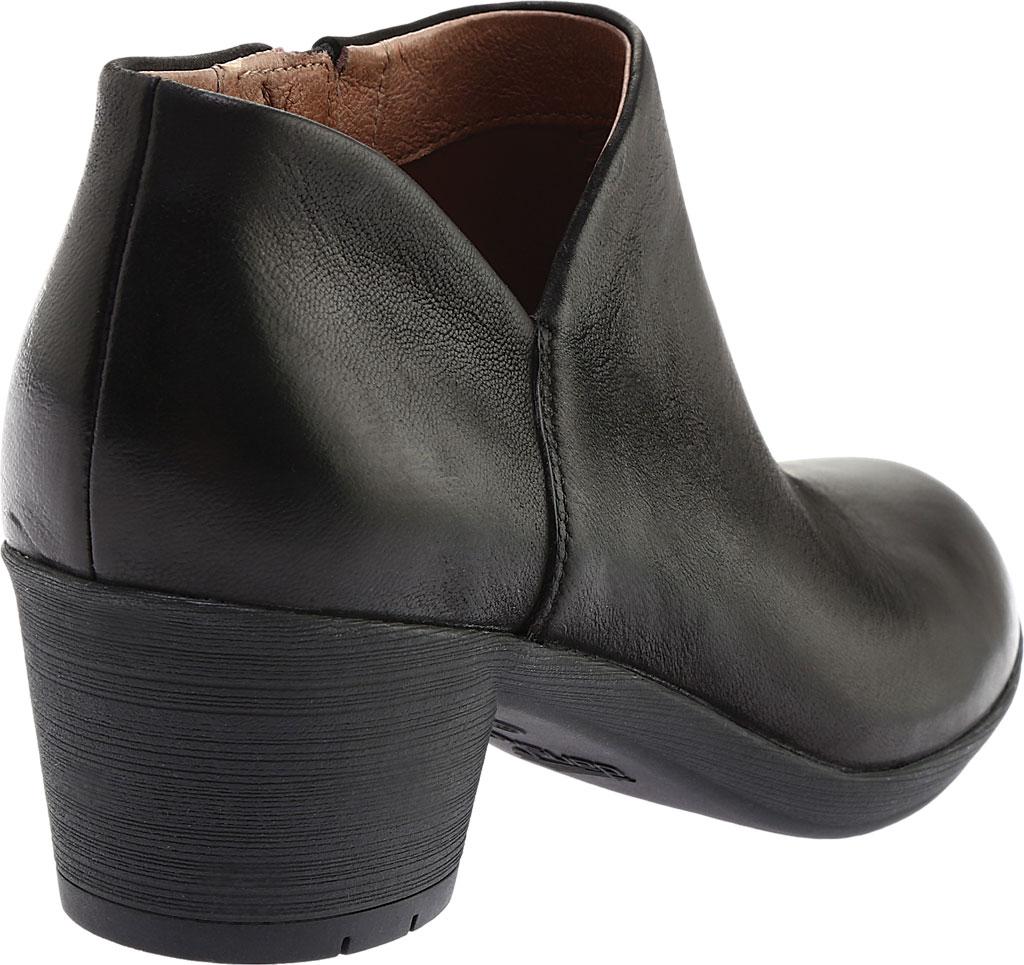 Women's Dansko Raina Ankle Boot, Black Burnished Nubuck, large, image 4