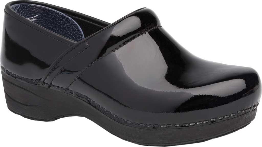Women's Dansko XP 2.0 Clog, Black Patent Leather, large, image 1