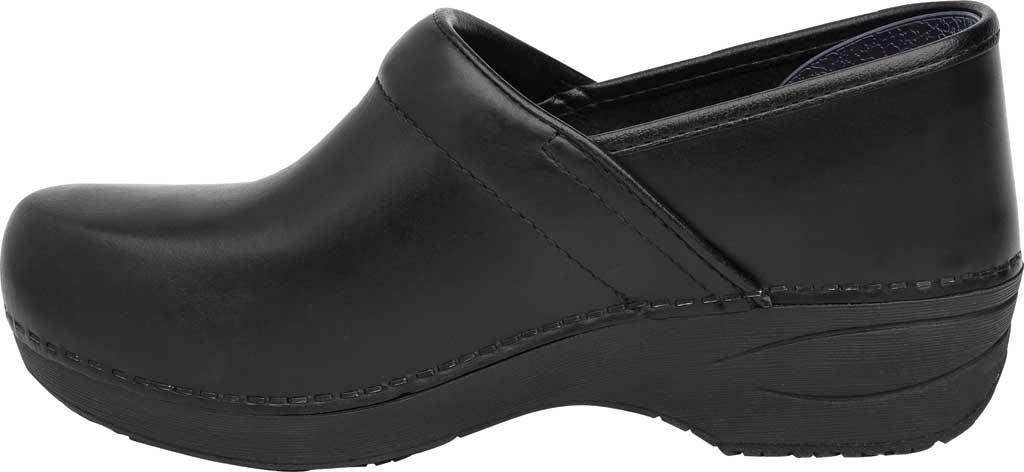 Women's Dansko XP 2.0 Clog, Black Pull Up Leather, large, image 2