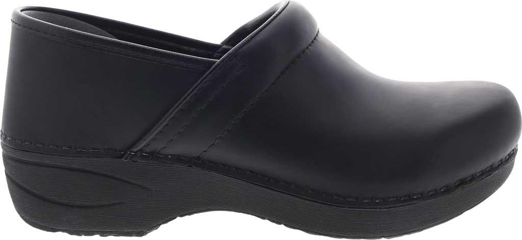 Women's Dansko XP 2.0 Clog, Black Waterproof Pull Up Leather, large, image 2