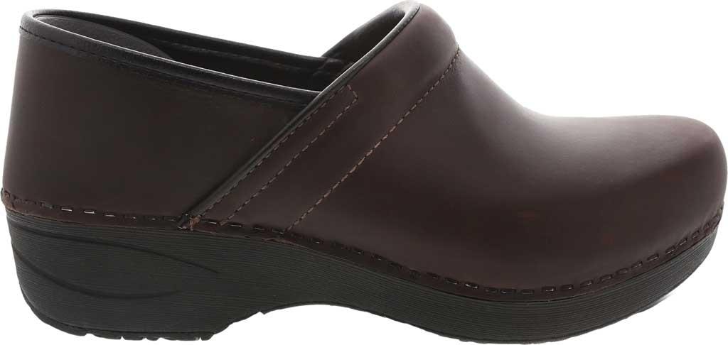 Women's Dansko XP 2.0 Clog, Brown Waterproof Pull Up Leather, large, image 2