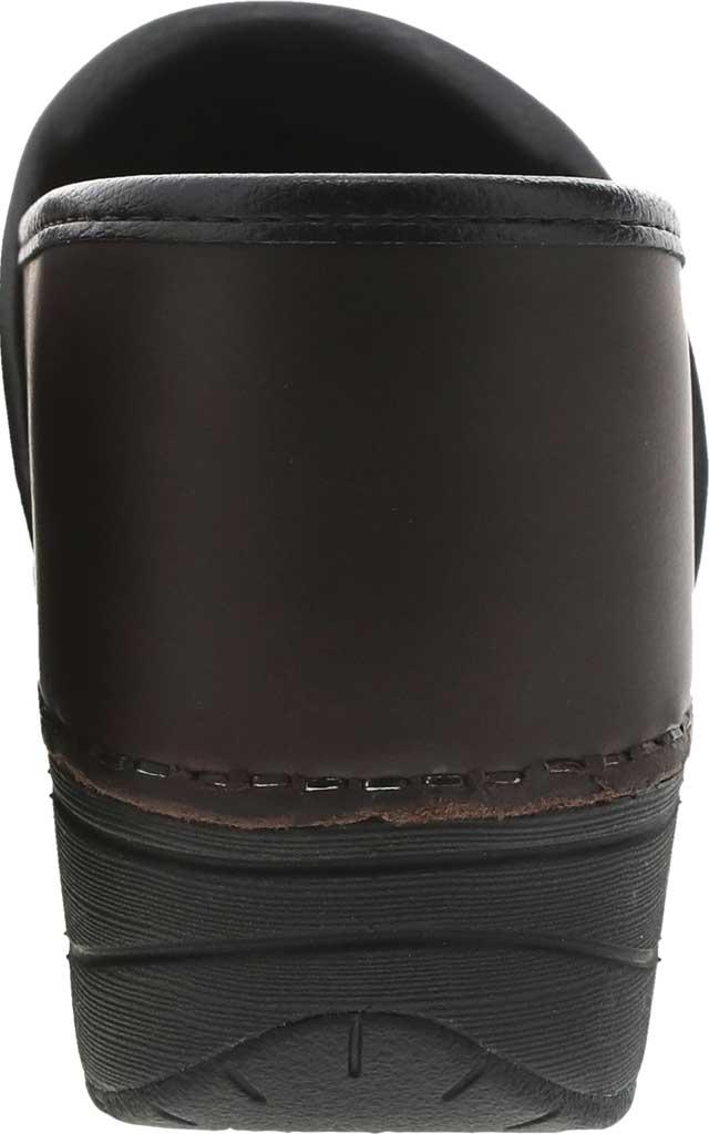 Women's Dansko XP 2.0 Clog, Brown Waterproof Pull Up Leather, large, image 3