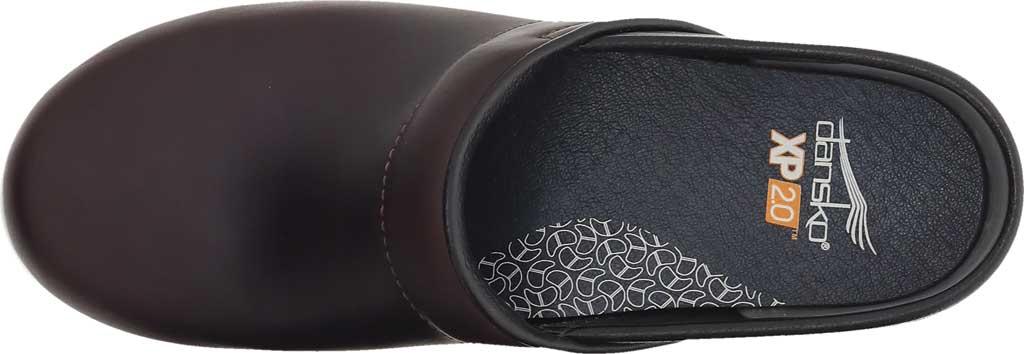 Women's Dansko XP 2.0 Clog, Brown Waterproof Pull Up Leather, large, image 4
