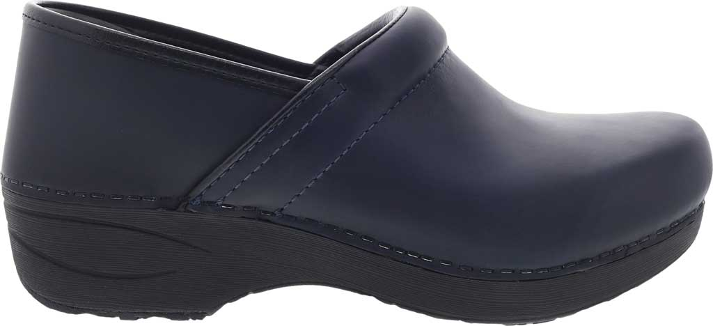 Women's Dansko XP 2.0 Clog, Navy Waterproof Pull Up Leather, large, image 2