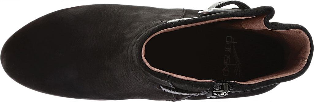 Women's Dansko Hartley Ankle Boot, Black Nubuck, large, image 5