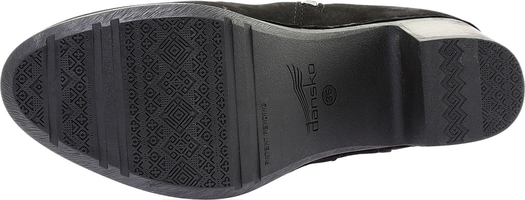 Women's Dansko Hartley Ankle Boot, Black Nubuck, large, image 6