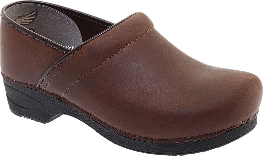 Men's Dansko XP 2.0 Clog, Brown Oiled Leather, large, image 1