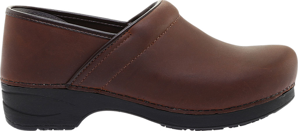 Men's Dansko XP 2.0 Clog, Brown Oiled Leather, large, image 2