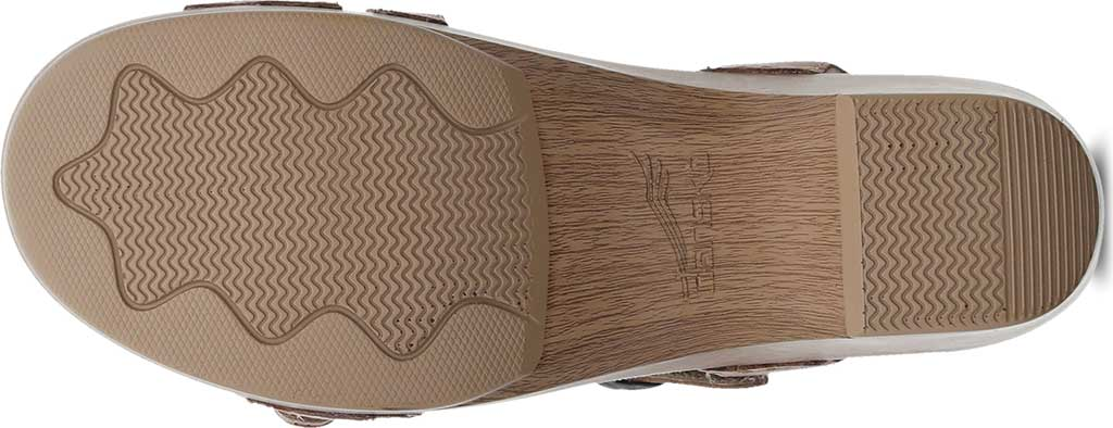 Women's Dansko Sacha Strappy Slingback, Tan Waxy Burnished Leather, large, image 4