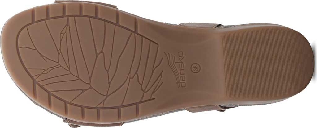 Women's Dansko Rebekah Ankle Strap Sandal, Tan Waxy Burnished Leather, large, image 4