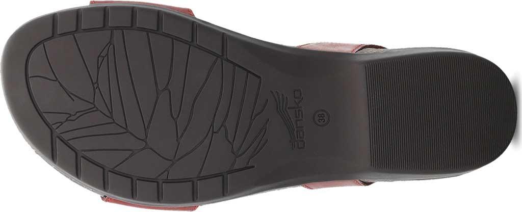 Women's Dansko Rebekah Ankle Strap Sandal, Coral Waxy Burnished Leather, large, image 4