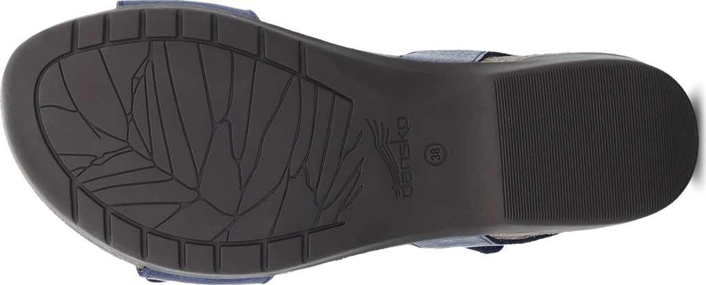 Women's Dansko Rebekah Ankle Strap Sandal, Navy Waxy Burnished Leather, large, image 4