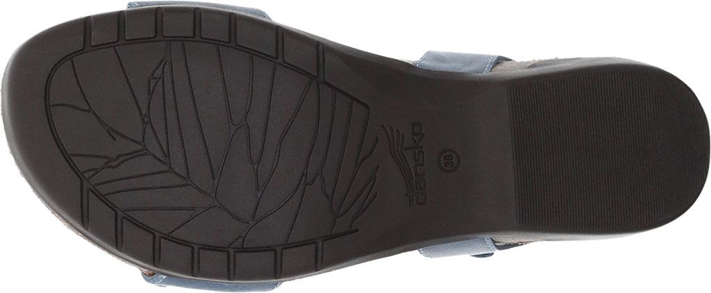 Women's Dansko Rebekah Ankle Strap Sandal, Denim Waxy Calf, large, image 4
