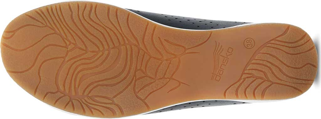 Women's Dansko Orli Sneaker, Black Nappa Leather, large, image 4