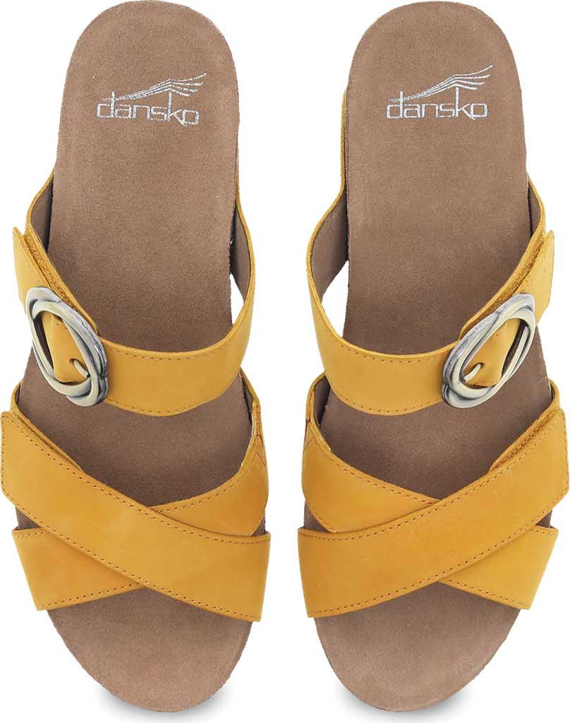 Women's Dansko Susie Slide, Mango Milled Nubuck, large, image 3