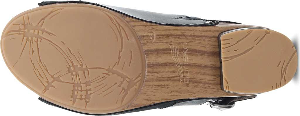 Women's Dansko Madalyn Slingback, Black Burnished Calf, large, image 4