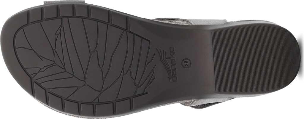 Women's Dansko Reece Toe Loop Sandal, Stone Waxy Burnished Leather, large, image 4