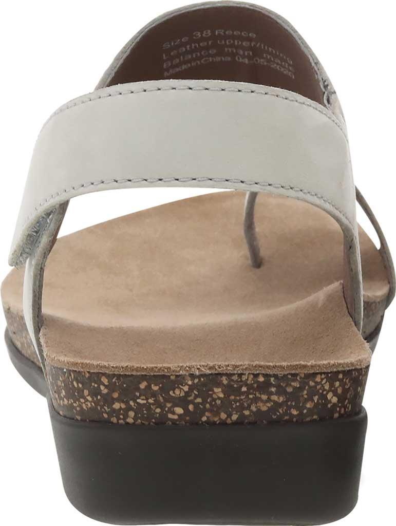 Women's Dansko Reece Toe Loop Sandal, Ivory Milled Nubuck, large, image 3