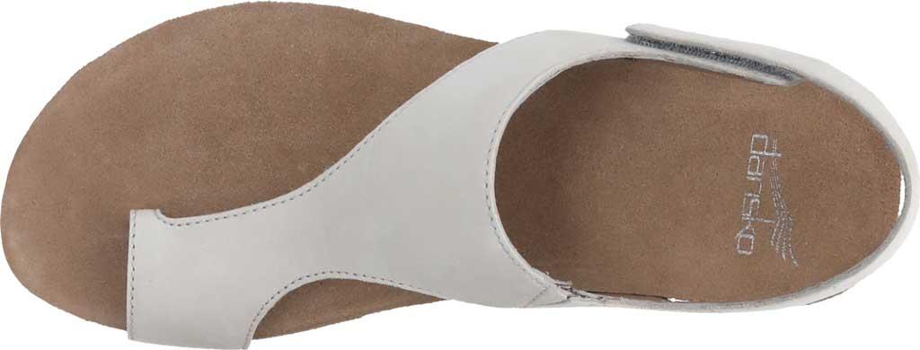 Women's Dansko Reece Toe Loop Sandal, Ivory Milled Nubuck, large, image 4