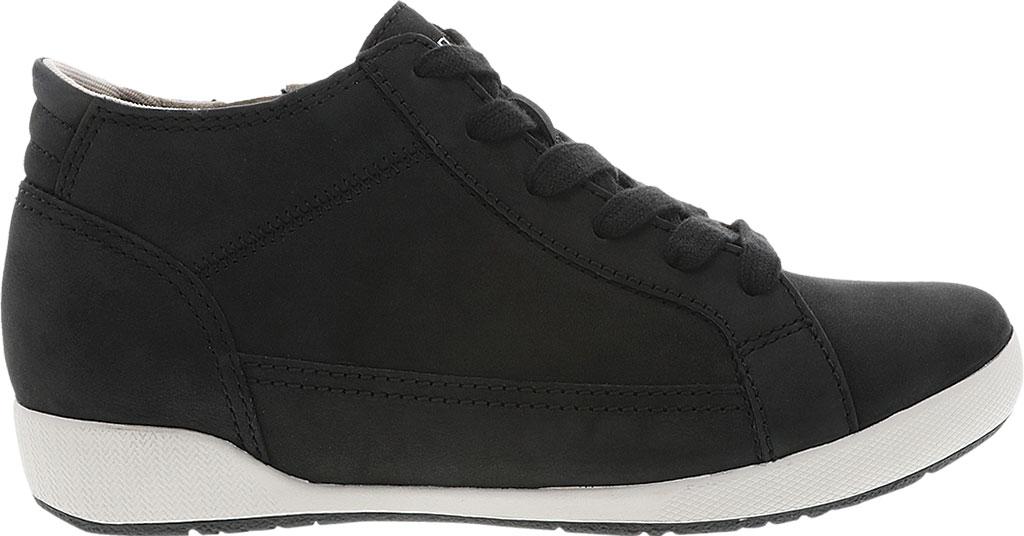 Women's Dansko Onyx High Top Sneaker, Black Milled Nubuck, large, image 2